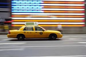 Taxis amarillos de Nueva York