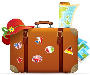 Viajar al extranjero. Medidas del equipaje de mano